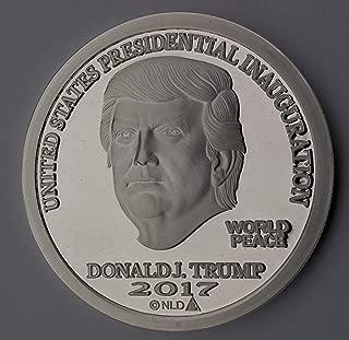 2017 donald trump silver dollar