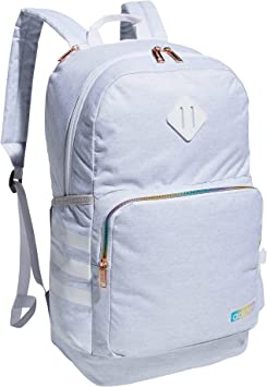 adidas Classic 3S 4 Backpack, Jersey White/White Rainbow, One Size