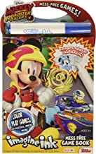Bendon 41686 Disney Imagine Ink Mess Free Game Book, Mickey and Roadster Racers