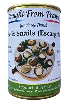 Straight from France French Lucorum Canned Escargots Snails (4 Dozens)
