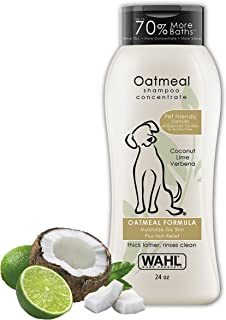 Wahl Dog/Pet Coconut & Lime Verbena Oatmeal Shampoo For All Life Stages - By The Brand Used By Professionals - Model 820004A