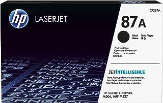 HP 87A Hewlett Packard Original LaserJet Colour Sphere Toner Cartridge, Black - CF287A