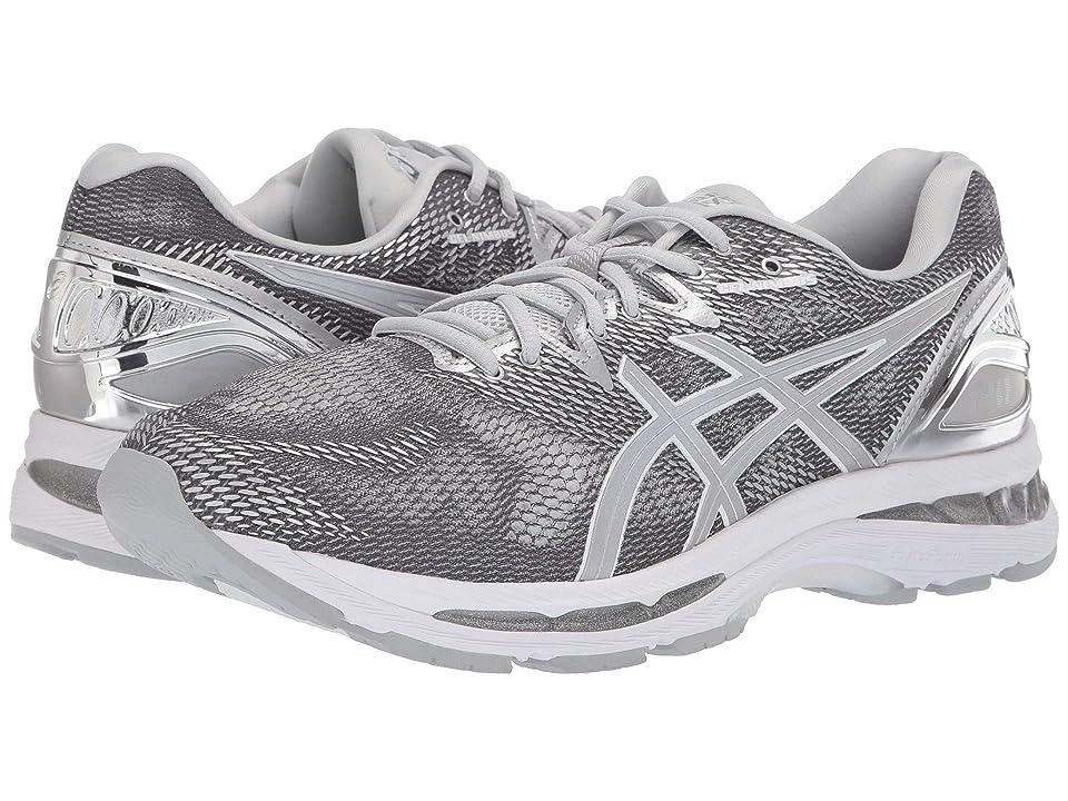 ASICS GEL-Nimbus 20 (Platinum Carbon/Silver/White) Men