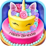 -A super fun food-making game -Make yummy birthday cakes for mirror cake, unicorn birthday cake, rainbow shortcake and strawberry watermelon cake -Tons of realistic cooking tools to play: flour sieve, spatula, mixer, cake molds, oven, plates, cream m...
