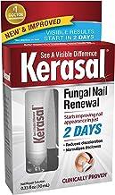 Kerasal Fungal Nail Renewal Treatment 10ml, Restores the Healthy Appearance of Nails Discolored or Damaged by Nail Fungus ...