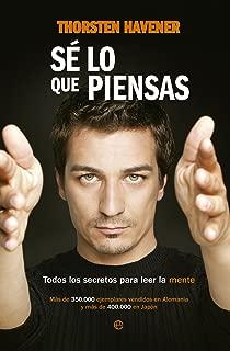 Sé lo que piensas (Fuera de colección) (Spanish Edition)