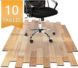 Tapis Protège-Sol Office Marshal® NEO Pour Parquets, Stratifiés, Lino | Tapis de Bureau Transparent en Vinyle | 11 Tailles au Choix | Epaisseur env. 1,5mm | 90x120cm