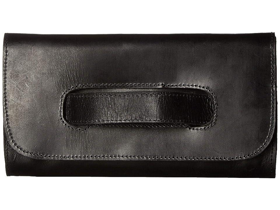 ABLE Mare Handle Clutch (Black) Handbags