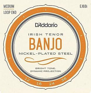 D'Addario EJ63i 12-36 Nickel Irish Tenor Banjo String