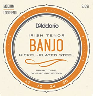 irish tenor banjo strings gdae