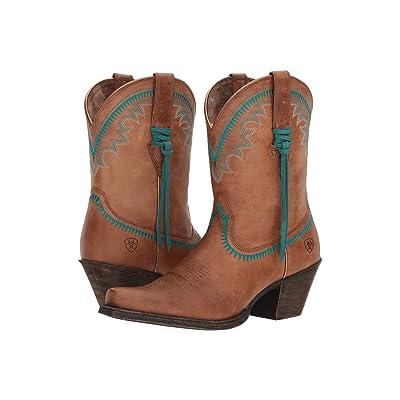 Ariat Round Up Aztec (Desert Sand) Cowboy Boots