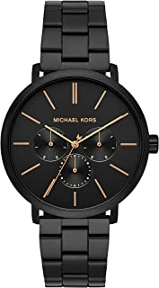 Best black mk watch mens Reviews