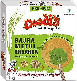 Daadi's Methi Khakhra, Bajra, 200g (Pack of 2)