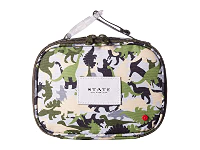 STATE Bags Kids Ryder Snack Pack Dinoflage (Olive Multi) Day Pack Bags