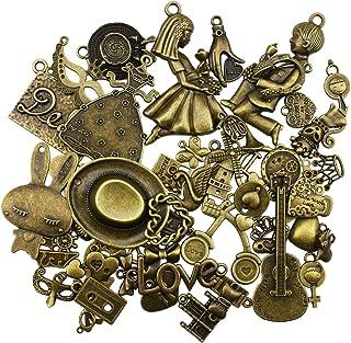 breloques pendentif bronze antique antique pour la fabrication bricolage, bracelet, collier, boucle d'oreille, décoration ...