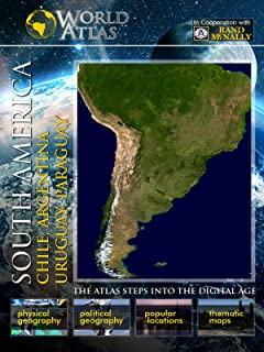 The World Atlas - South America: Chile, Argentina, Uruguay, Paraguay