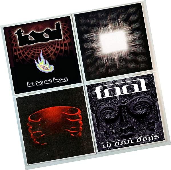 Tool Coasters Set Of 4 Tile Coasters Album Covers Band Coasters