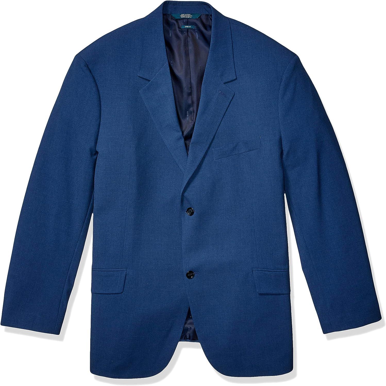 Perry Ellis Men's Big & Tall Big Washable Solid Stretch Suit Jacket