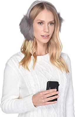 Luxe Knit Longpile Sheepskin Earmuff with Tech Option