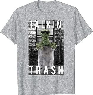 Sesame Street Oscar the Grouch Talkin' Trash T Shirt T-Shirt