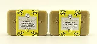 Lemon Verbena Verveine-citron Triple Milled Soap