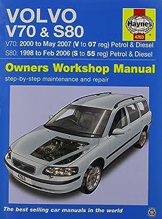 Volvo V70 & S80 Service & Repair Manual