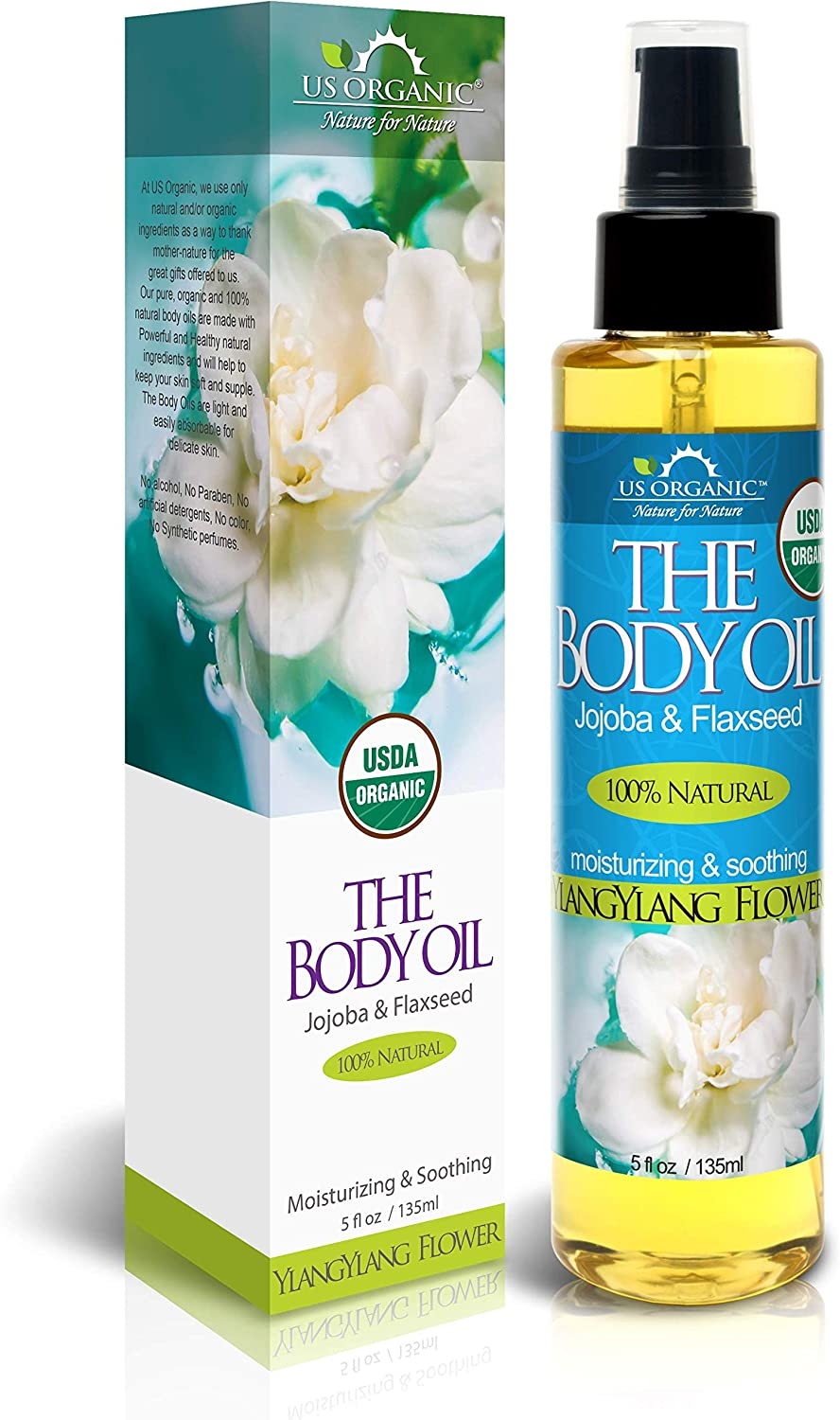 Body Some reservation At the price of surprise Bath Oil - Rich Floral Ylang Certified by Organic