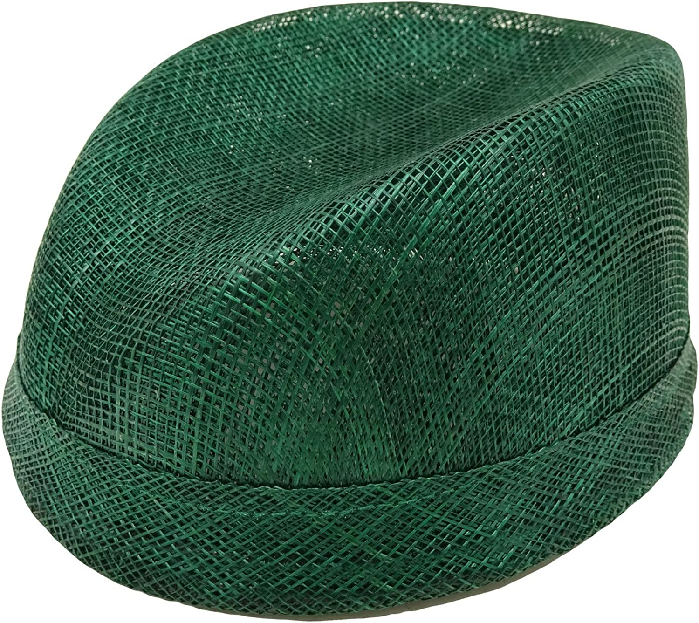 HATsanity Women's Sinamay Mini Fez Hat