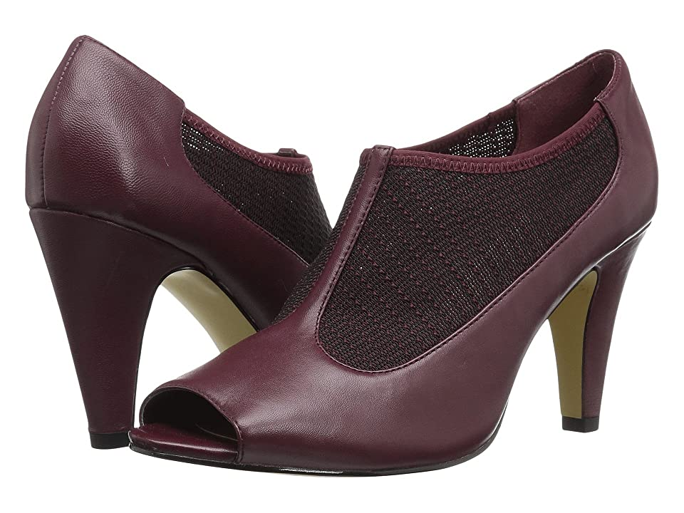 Bella-Vita Ninette (Burgundy/Stretch) High Heels