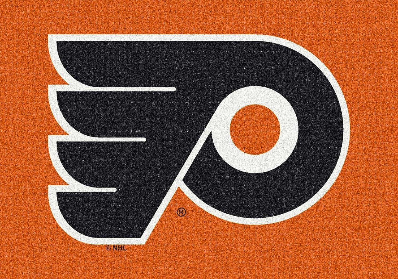 Milliken Philadelphia Flyers NHL Team Spirit Area Rug, 310 by 54