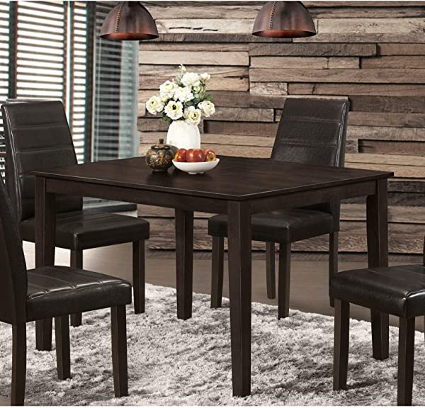 Hommax Furniture Dining Table Black