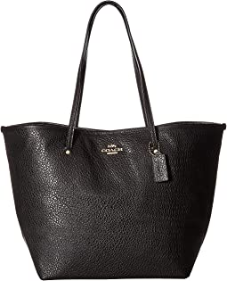 Leather Large Street Tote