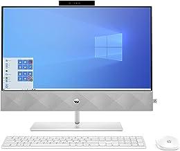 $1239 » HP Pavilion 24-inch All-in-One Computer, Intel Core i7-10700T, Intel UHD Graphics 630, 16 GB RAM, 512 GB SSD, 1 TB Hard Drive, Windows 10 Home (24-k0080, Snowflake White)