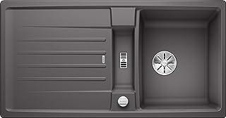 BLANCO 524921 Lexa 5 S Küchenspüle, felsgrau, 50 cm Unterschrank