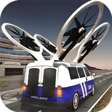Flying Emergency Ambulance Driving: 911 Rescue Simulator Free