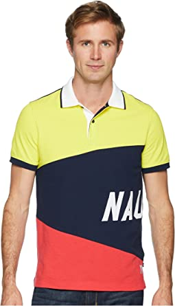 Short Sleeve Sail Flag Polo