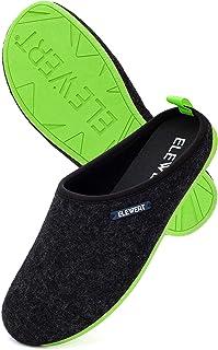 ELEWERT® - Natural - Zapatillas de Estar por casa, Hechas en España, Confort, Unisex, Interior, Exterior, Suela de Caucho,...