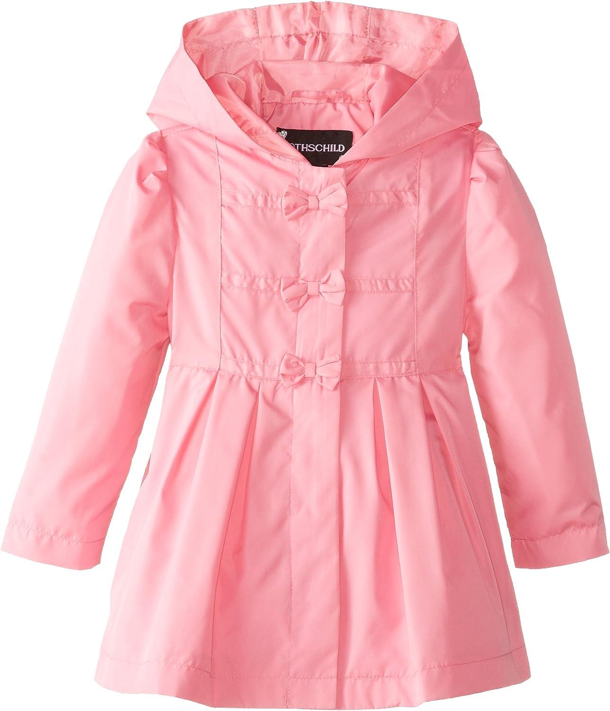 Rothschild Little Girls' Bow-Front Jacket