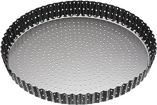 comprar comparacion Master Class–Molde para horno antiadherente estriado con base extraíble para tartas (/Quiche Pan, 28cm (11