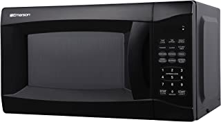 Emerson MW7302B, 0.7 CU. FT. 700 Watt, Touch Control, Black Microwave Oven