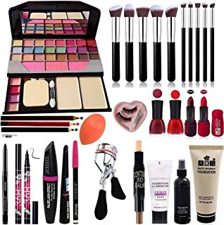 BTN PROFESSIONAL Face Make Combo (Set of 15 & Pc's of 29)