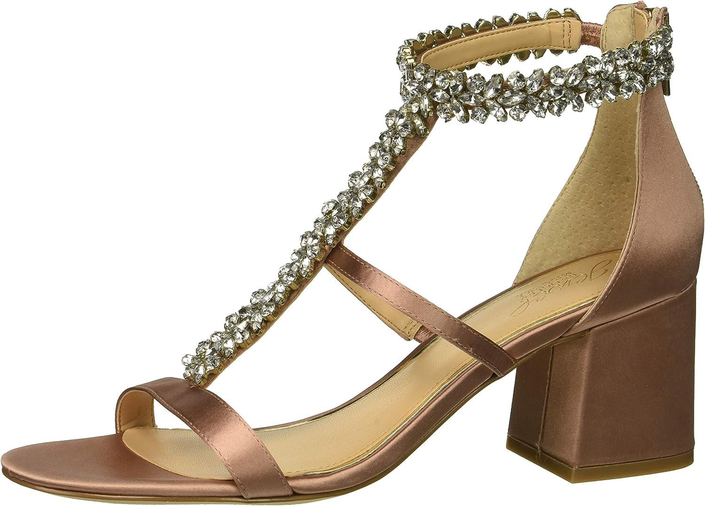 Badgley Mischka Womens Janica Heeled Sandal