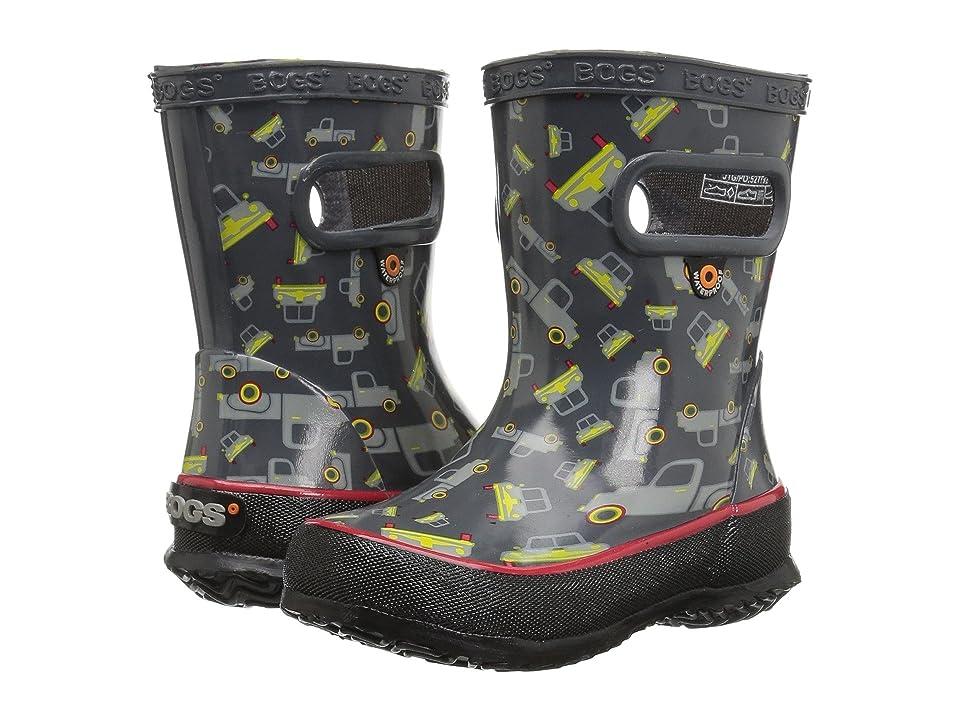 Bogs Kids Skipper Trucks (Toddler/Little Kid) (Dark Grey Multi) Boys Shoes