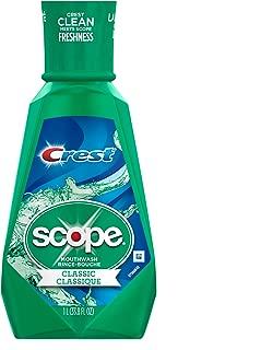 Scope Classic Mouthwash Original Formula, 33.8 oz