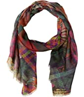 Etro - 70 x 170 Scottish Plaid Delhi Scarf