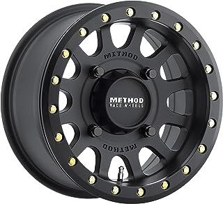 Method 401 Beadlock Matte Black ATV/UTV Wheel 15x7 (4/156) - (4+3) [MR40157046543B]