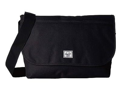 Herschel Supply Co. Grade (Dark Grid/Black) Messenger Bags