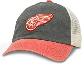 red wings mesh hat