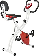 Best Choice Products Magnetic Upright Exercise Fitness Cycling Bike Bicycle for Cardio, Home Gym - Red