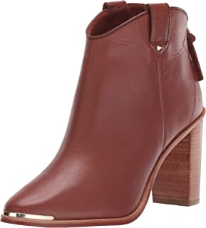 Ted Baker Women's KASIDY Ankle Boot, Tan Leather, 5 M US